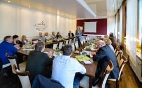Business Talk verbindet WISSEN UND DINNER