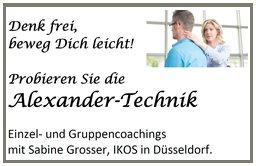 Einzel- und Gruppencoachings  mit Sabine Grosser in Düsseldorf.  IKOS, www.ikos-grosser.de