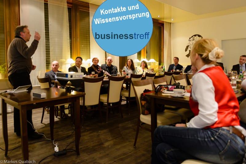 Businesstreff Unternehmertreffen Netzwerk für Unternehmer Events